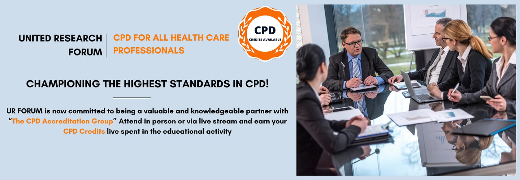 CME CPD CE Accredited